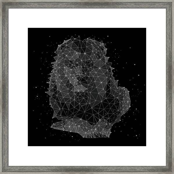 The Constellation Of Leo Framed Print