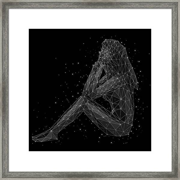 The Constellation Of Virgo Framed Print