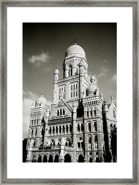 The Corporation Building Bombay Framed Print