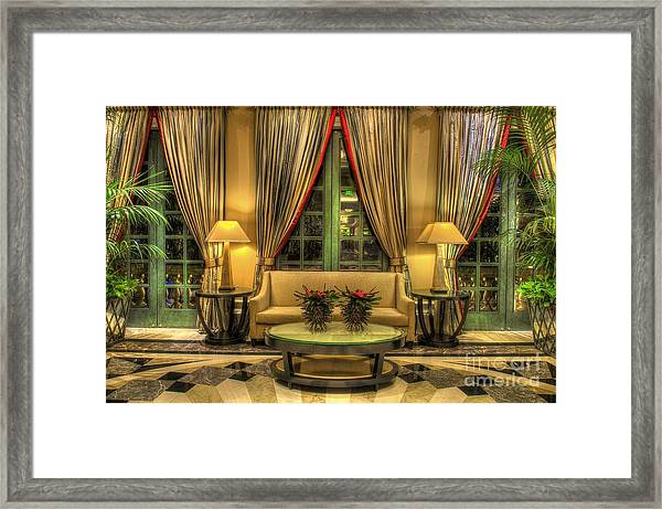 The Couch Framed Print