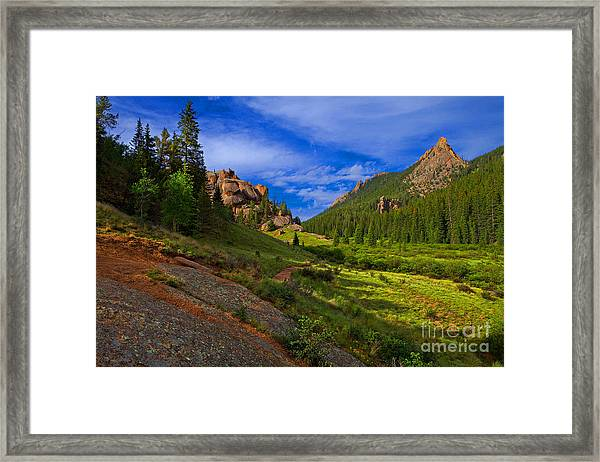 The Craggs Framed Print