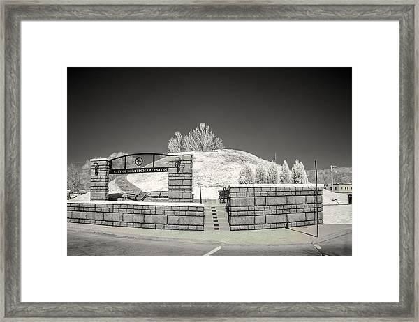 The Criel Mound  Framed Print