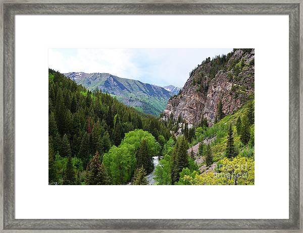 The Crystal River Framed Print