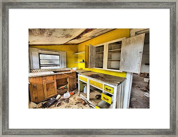 The Cupboard Is Bare Framed Print