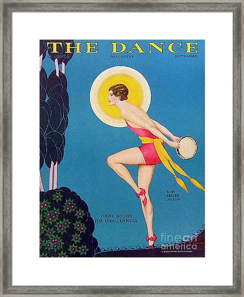 The Dance  1929 1920s Usa Ruby Keeler Framed Print by The Advertising Archives