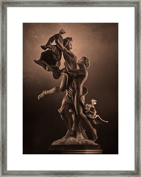 The Dance Of Love Framed Print