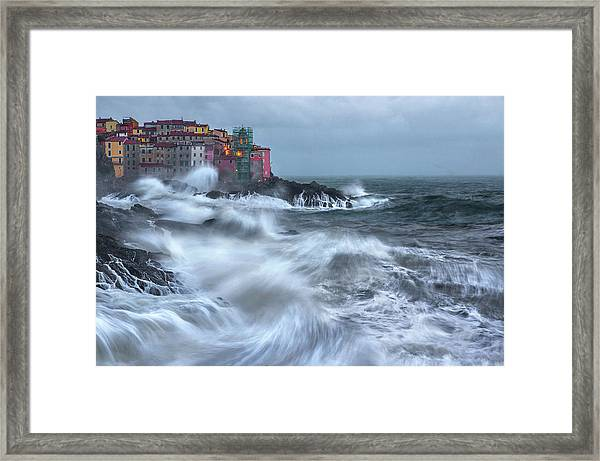 The Dance Of The Sea Framed Print by Alessandro Traverso