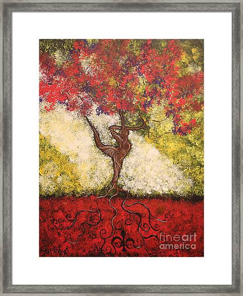 The Dancer Series 7 Framed Print