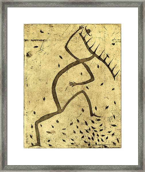 The Dancing Rake Framed Print by Tim Southall