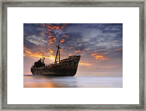 The Dark Traveler II Framed Print