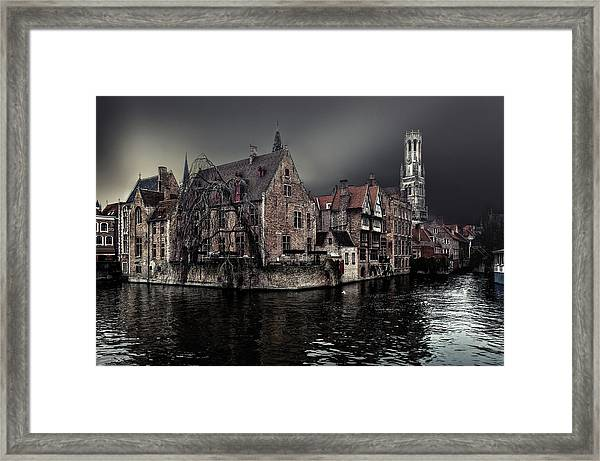 The Darkness Of Winter Cold Framed Print