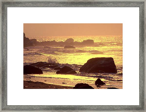 The Dawn Is Breaking  Framed Print