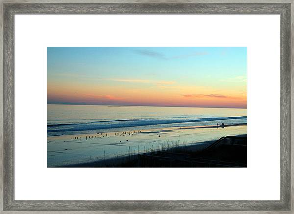 The Day Ends Framed Print