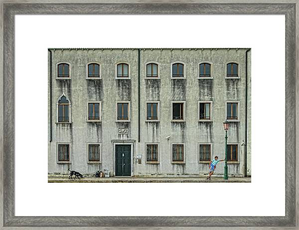 The Day Nothing Happened Framed Print