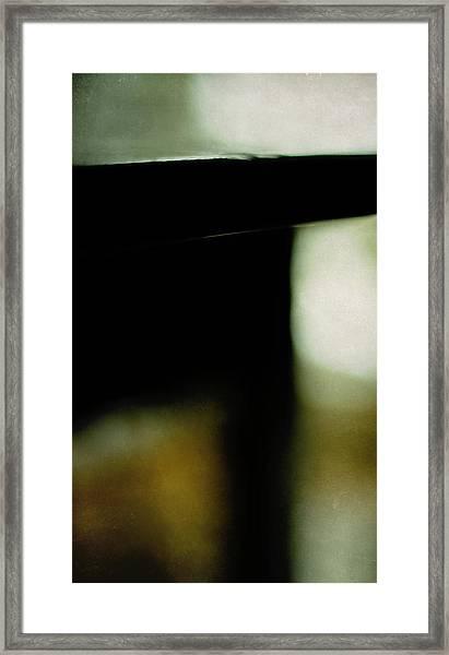 The Deco Table Framed Print