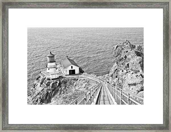 Framed Print featuring the photograph The Descent To Light by Priya Ghose