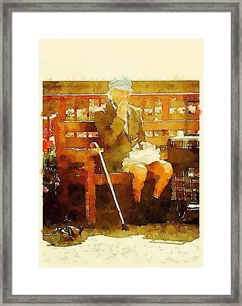 The Devonshire Man Framed Print
