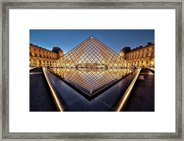 The Diamond Framed Print by Marc Pelissier