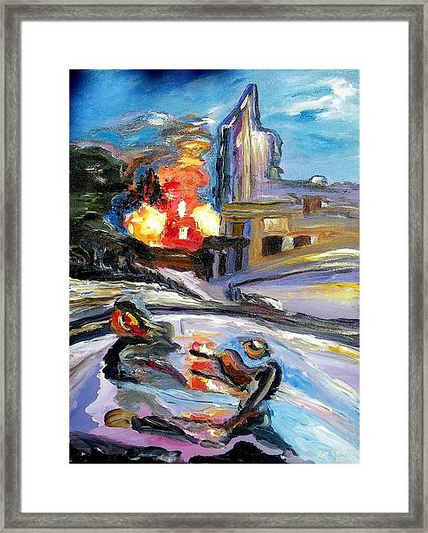 The Disaster Framed Print