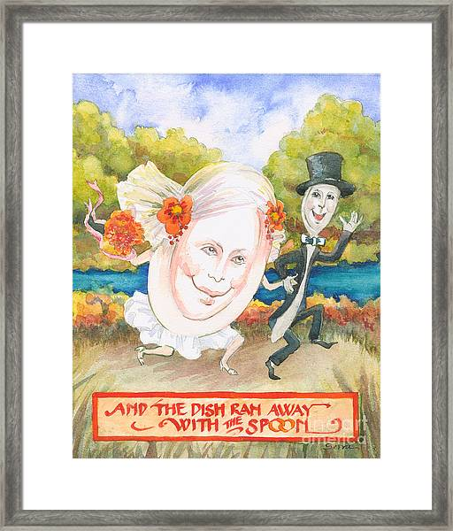 The Dish And The Spoon Framed Print