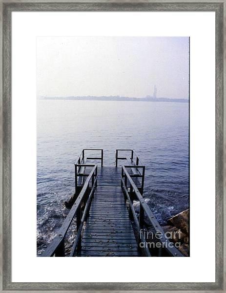 The Dock In The Bay Framed Print