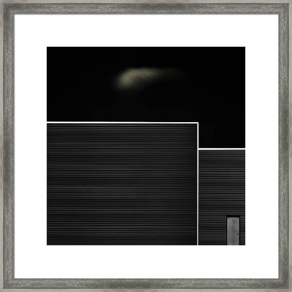 The Door Framed Print