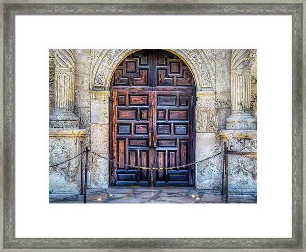 The Alamo Framed Print