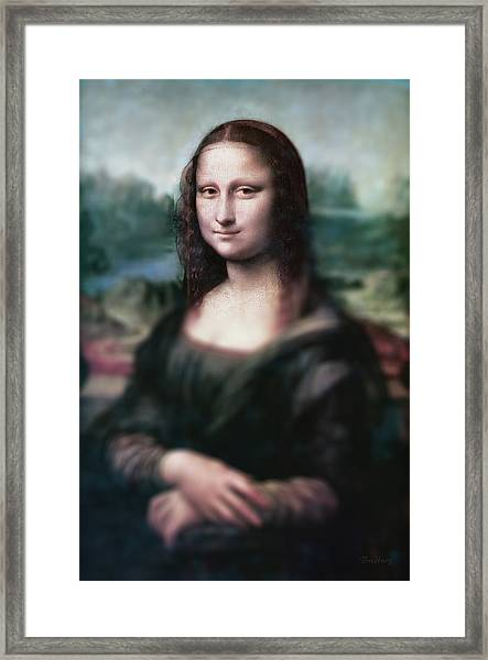 The Dream Of The Mona Lisa Framed Print