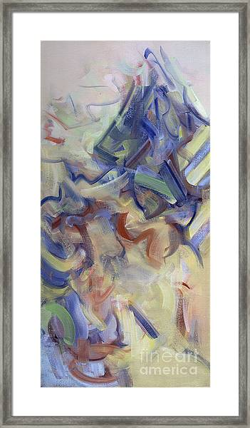 The Dream Stelae - Ahmose's Framed Print