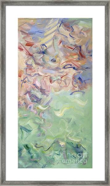 The Dream Stelae - Thutmose I Framed Print
