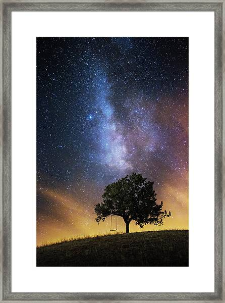 The Dreamer's Seat Framed Print