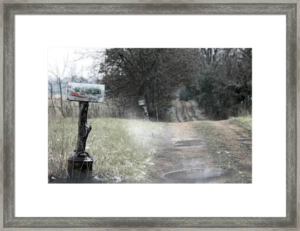 The Drive Home Framed Print