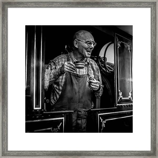 The Driver Framed Print
