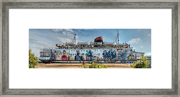 The Duke Of Graffiti Framed Print