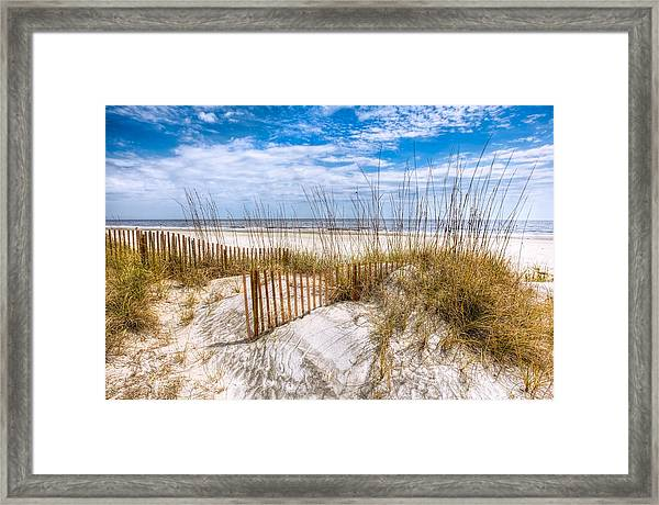 The Dunes Framed Print