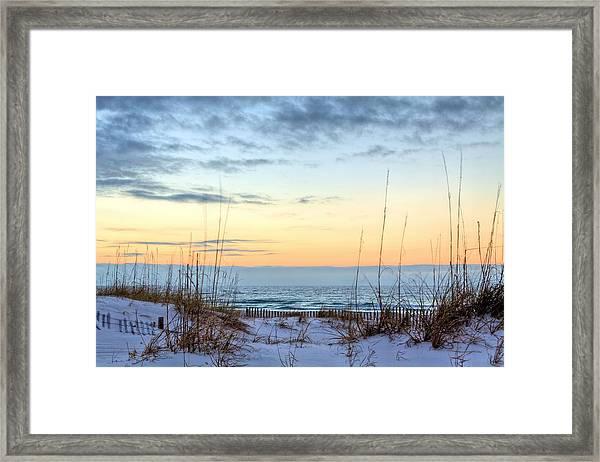 The Dunes Of Pc Beach Framed Print