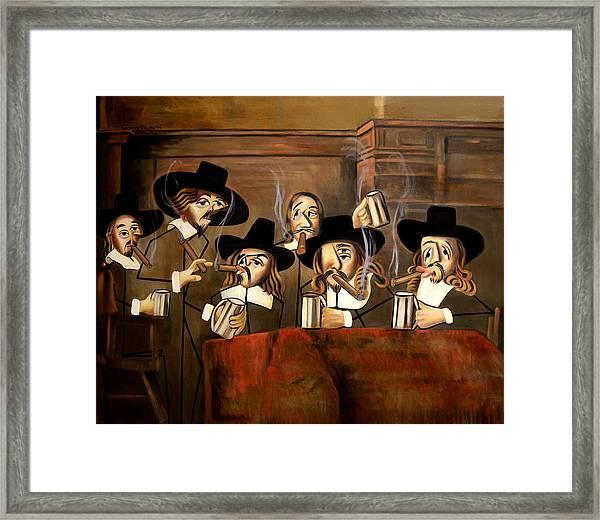 The Dutch Masters Framed Print