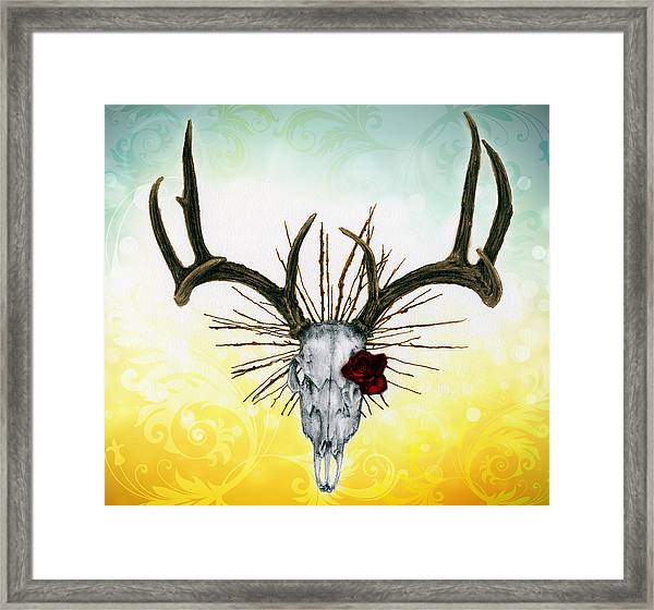 The Earth Is My Witness Framed Print