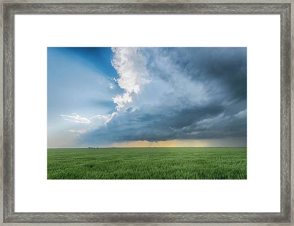 The Edge Framed Print