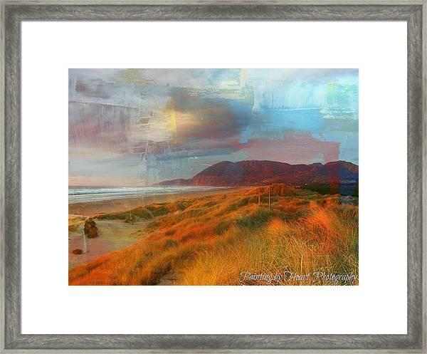 The Elk Trail Framed Print