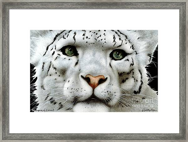 The Emperor Of Everest... Framed Print