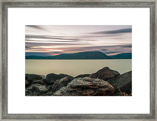 The End Of Time  Framed Print