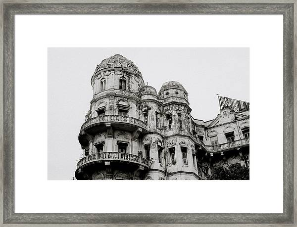 The Esplanade Mansions Framed Print