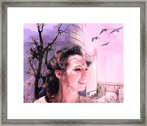 The Essence Of Eliza Framed Print