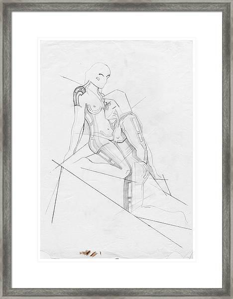 The Eternal Idol - Homage Rodin Framed Print