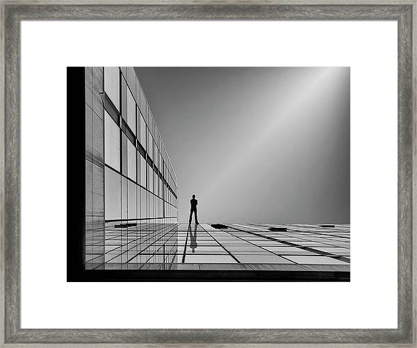 The Evolution Of Space ... Framed Print