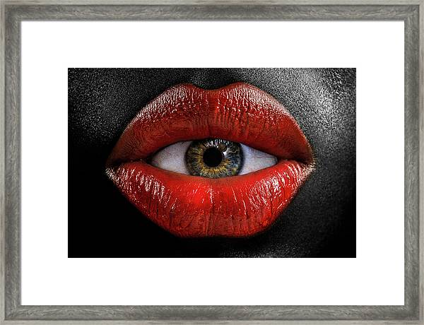 The Eye Of Horus Framed Print