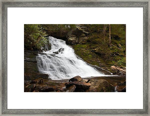 The Falls At Deans Ravine Framed Print