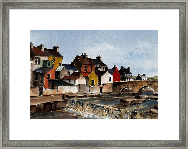The Falls At Ennistymom Clare Framed Print
