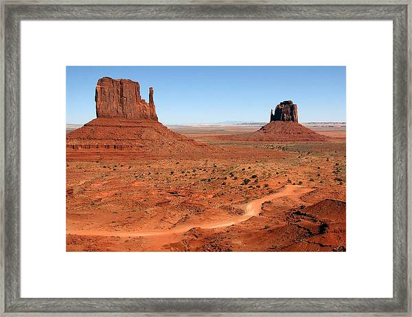 The Famous Mittens Framed Print